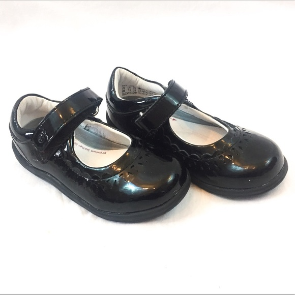 Stride Rite Shoes Mary Jane Shiny Black Dress Sz 8 Poshmark